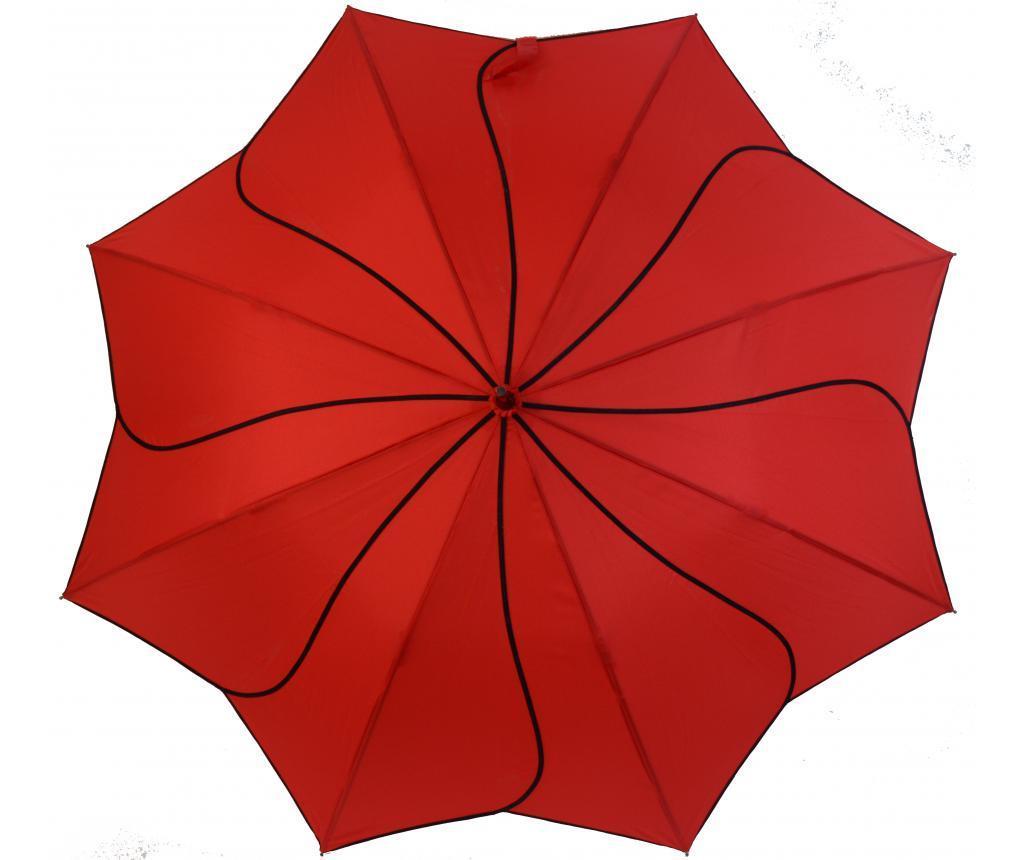 Dežnik Swirl Red