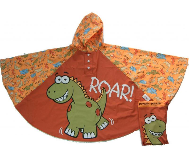 Pončo za djecu Dinosaur 3-6 god.