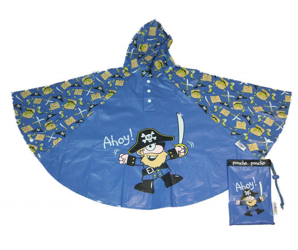 Pončo za otroke Pirate 3-6 let