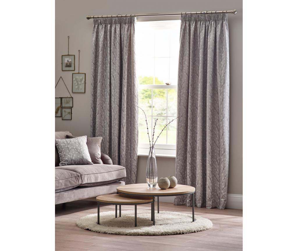 Set 2 zavjese Sienna Grey 168x183 cm