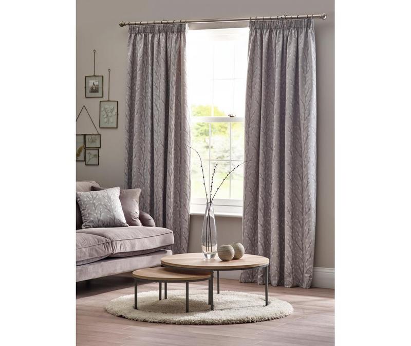 Set 2 draperii Sienna Grey 168x183 cm