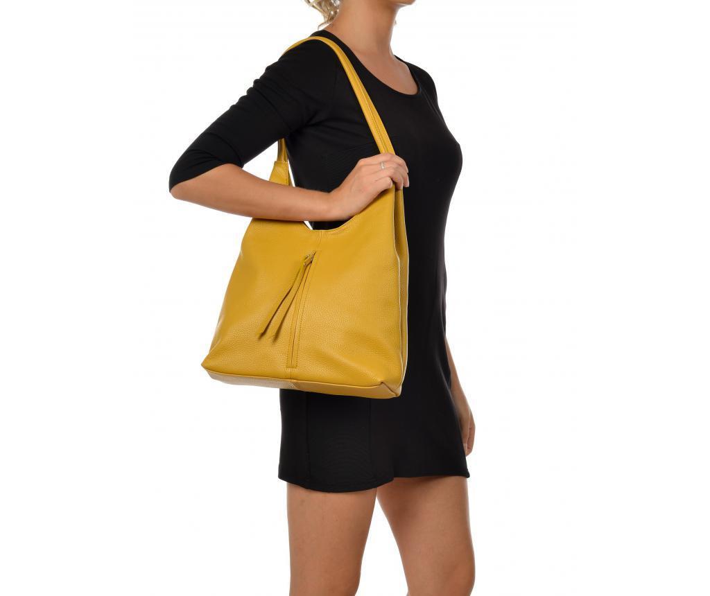 Geanta Amelie Yellow