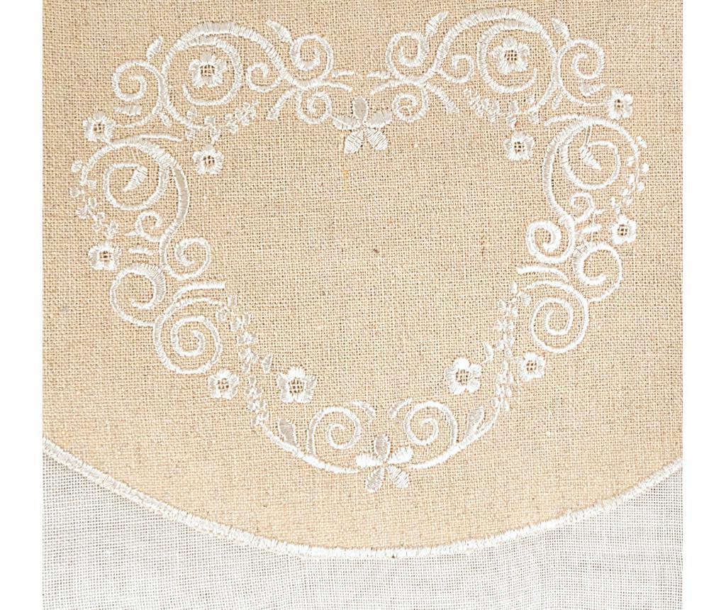 Set 2 zaves 60x220 cm