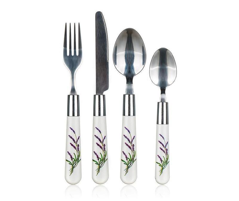 24-delni jedilni pribor Lavender