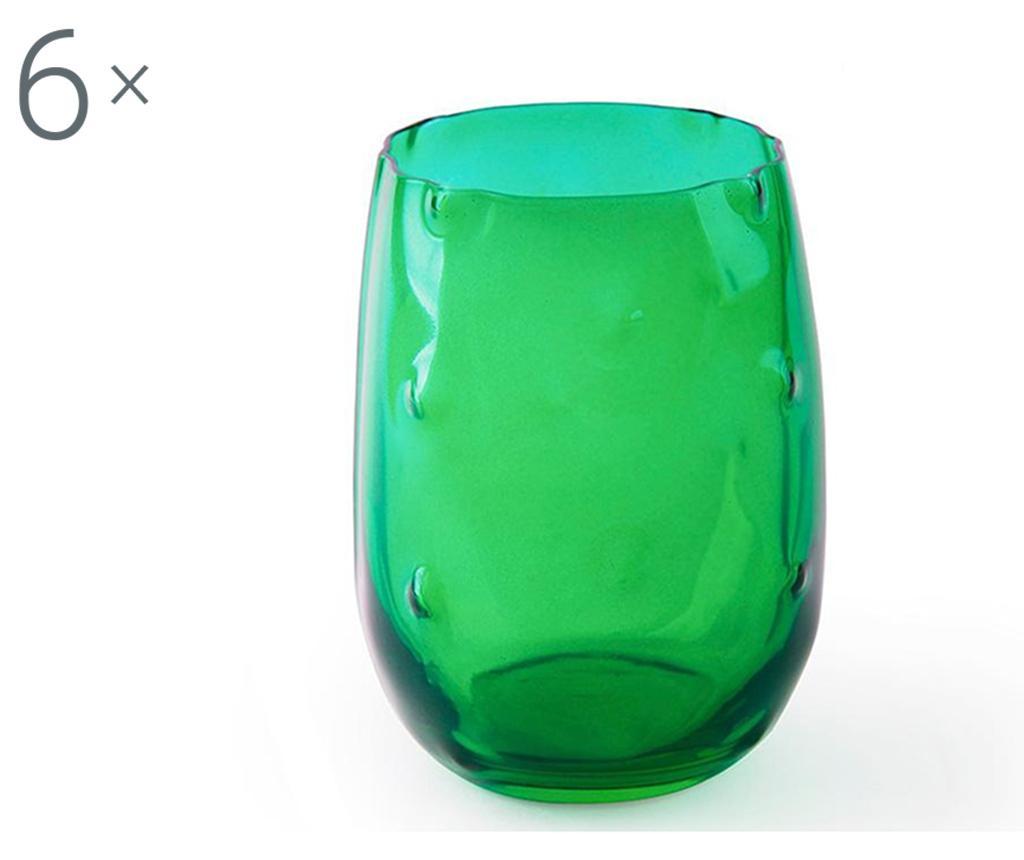 Set 6 čaša Barrio de Cactus 390 ml