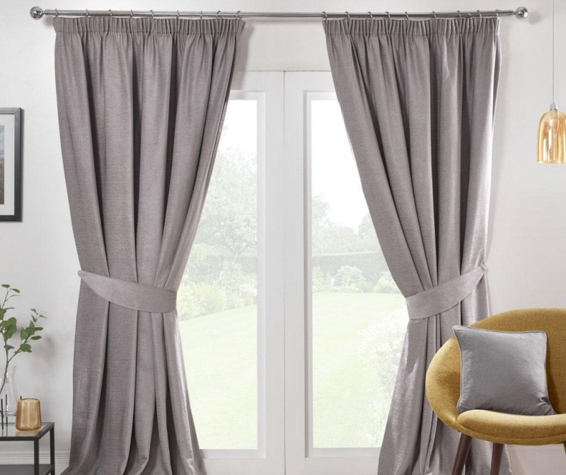 Set 2 zaves Austin Grey 229x183 cm