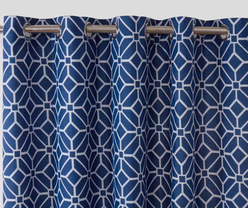 Kelso Blue 2 db Függöny 229x183 cm