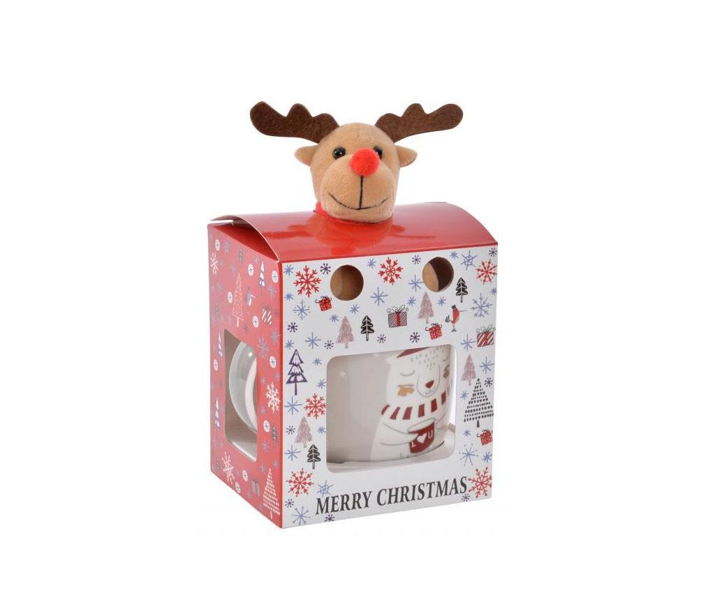 Set skodelica in igrača Reindeer