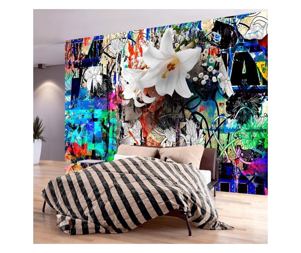 Stenska tapeta Urban Lily 245x350 cm