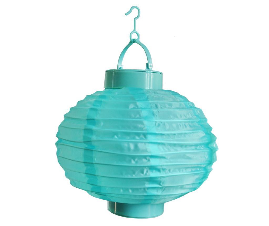 Turquoise Passion Napelemes Lámpa