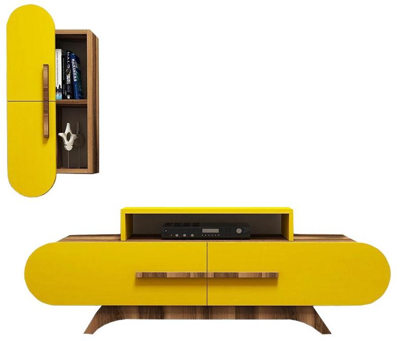 Комплект комода TV и шкаф Gail