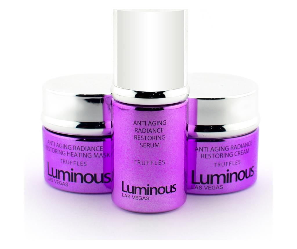Luminous Antiaging Radiance 3 darabos Szépségápoló készlet