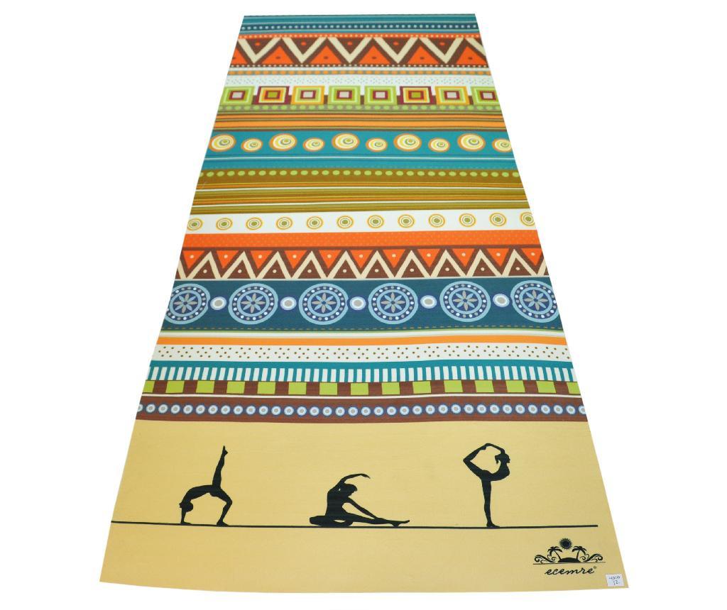 Prostirka za jogu Colors Fit 65x185 cm