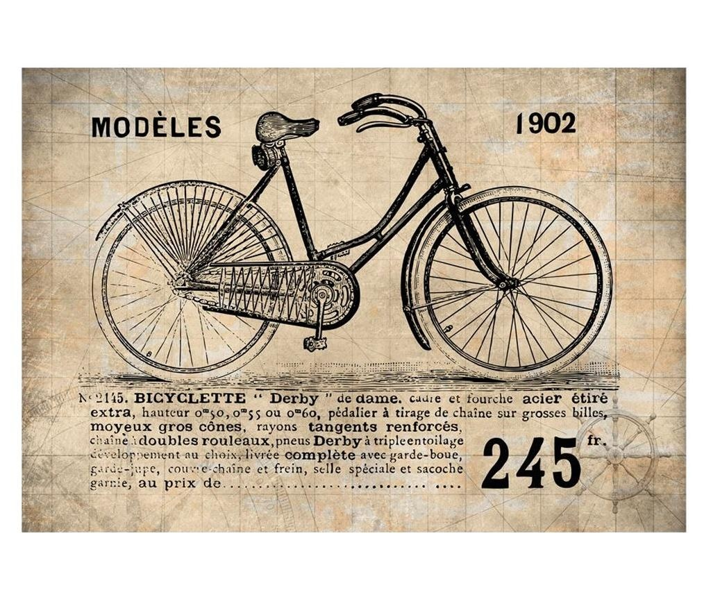 Stenska tapeta Old School Bicycle 280x400 cm