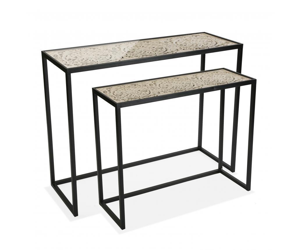 Set od 2 konzolna stolova