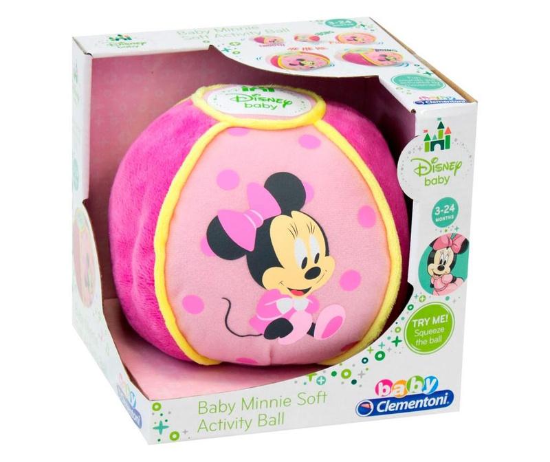 Žoga aktivnosti Minnie Mouse 3 mesecev+