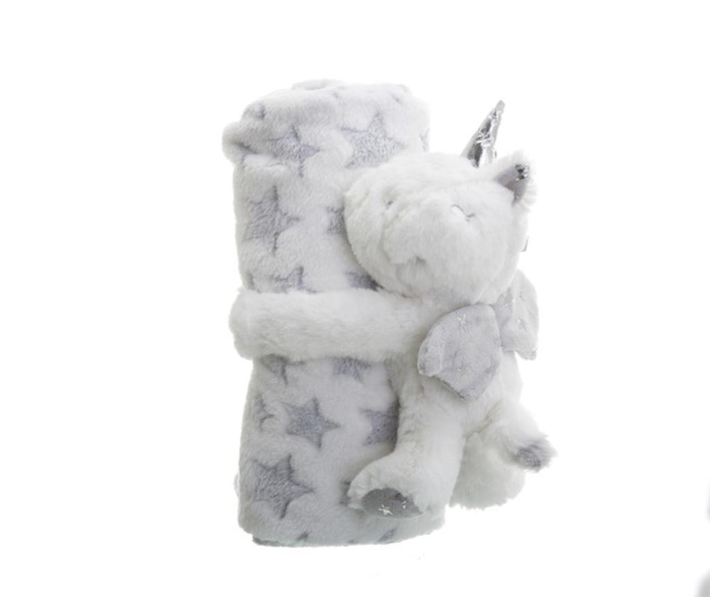 Одеяло с играчка 75x100 см