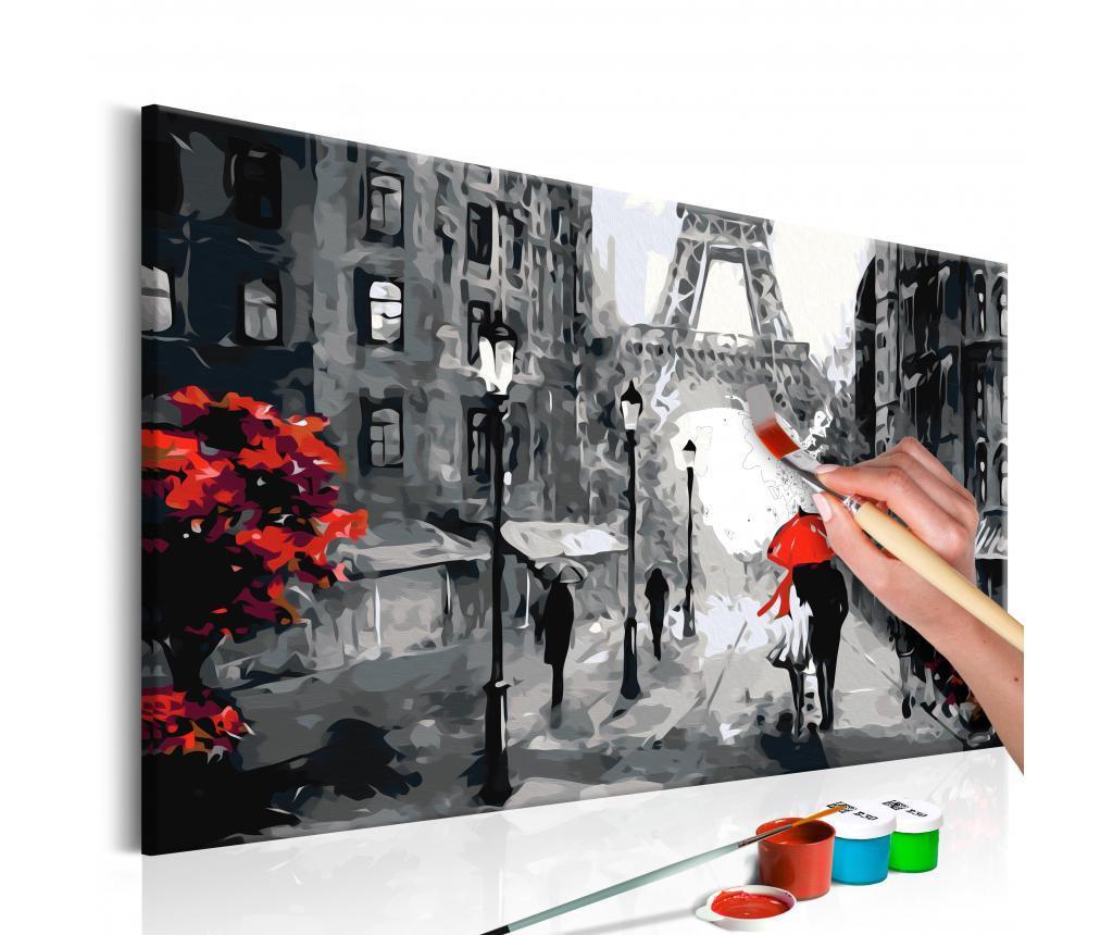 From Paris With Love DIY kanavász kép 40x60 cm