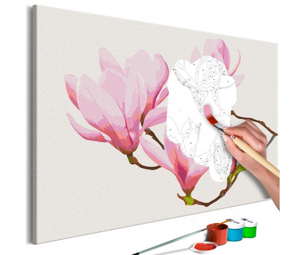 Floral Twig DIY kanavász kép 40x60 cm