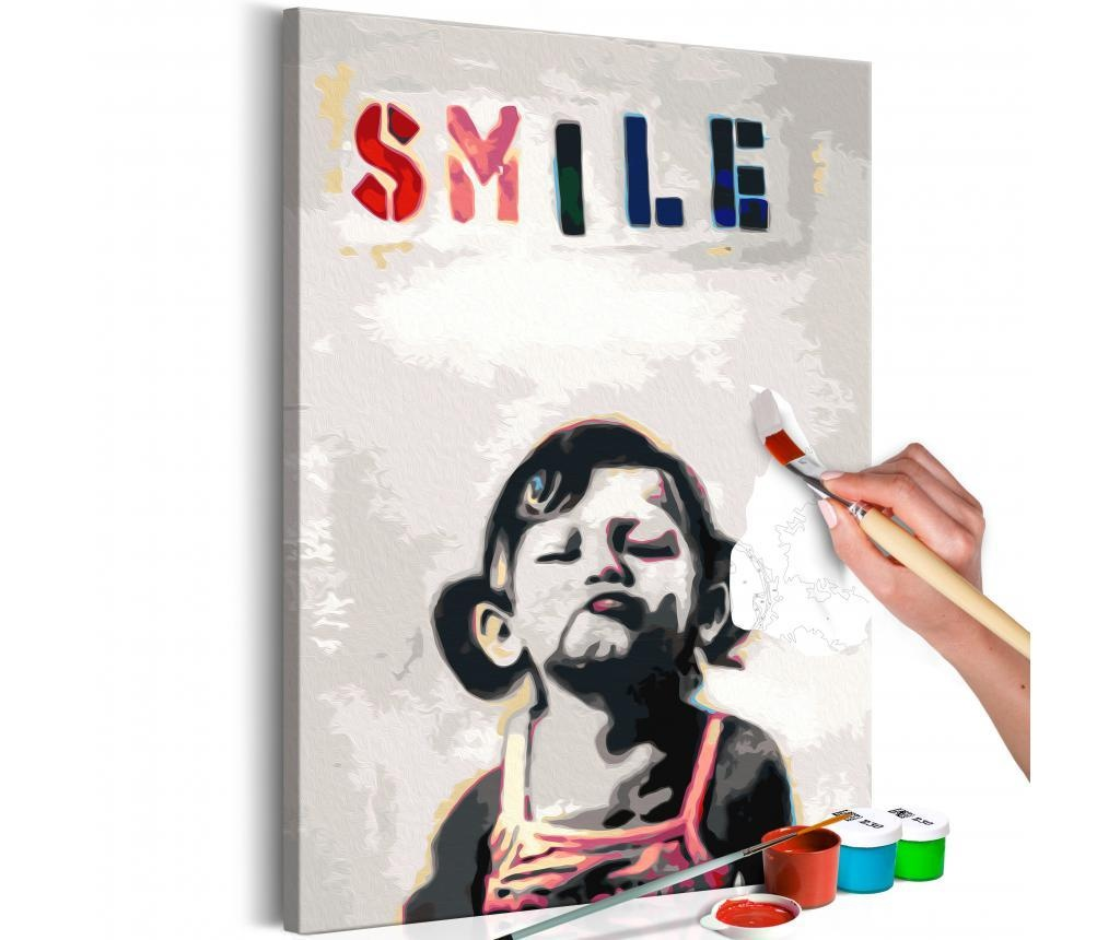 Little Girl DIY kanavász kép 40x60 cm