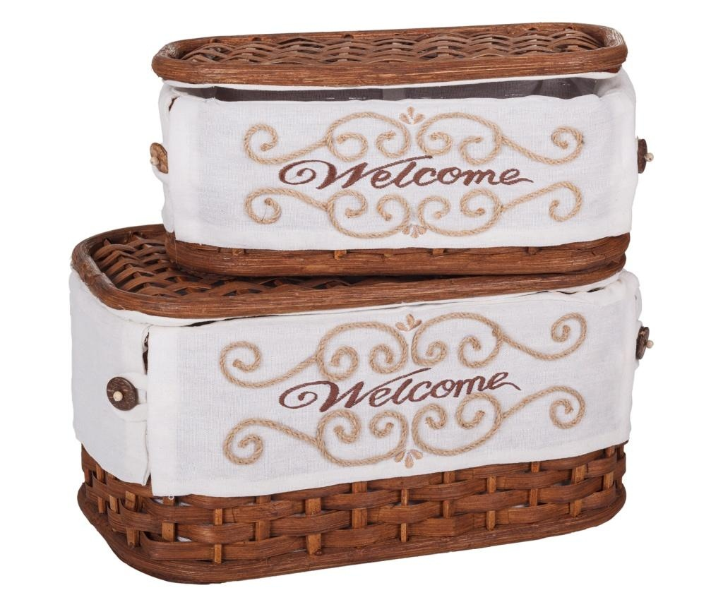 Welcome Brown 2 db Doboz