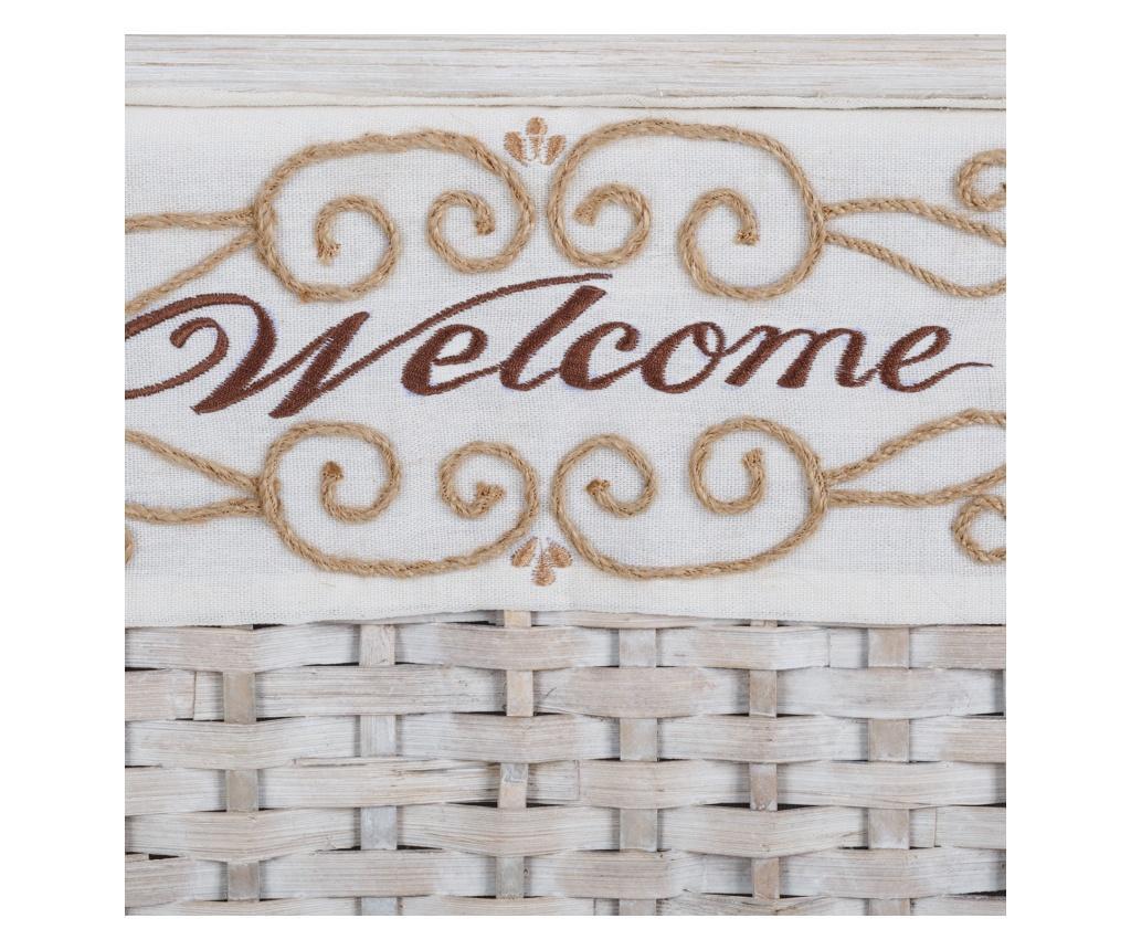Set 3 cosuri Welcome White