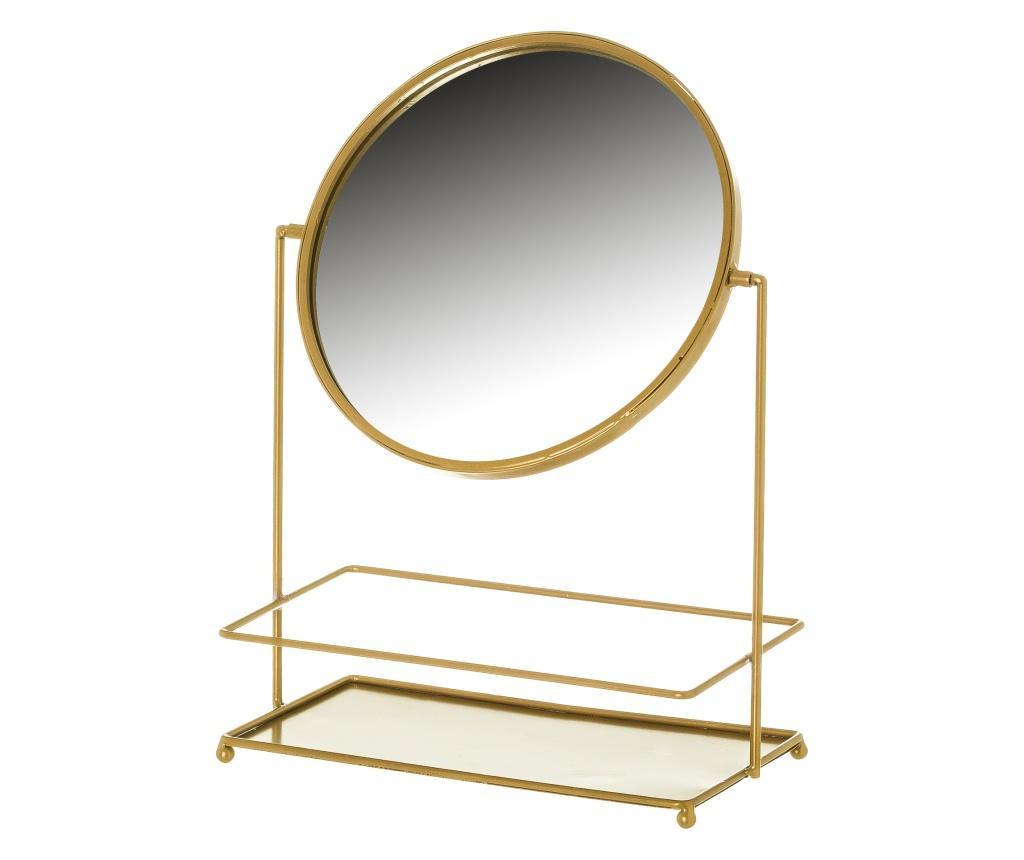 Asztali tükör ékszertartóval