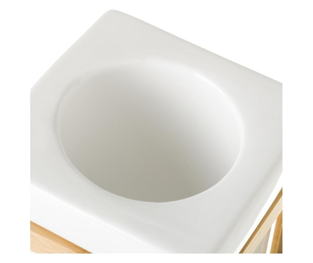 Perie de toaleta cu suport Bamboo