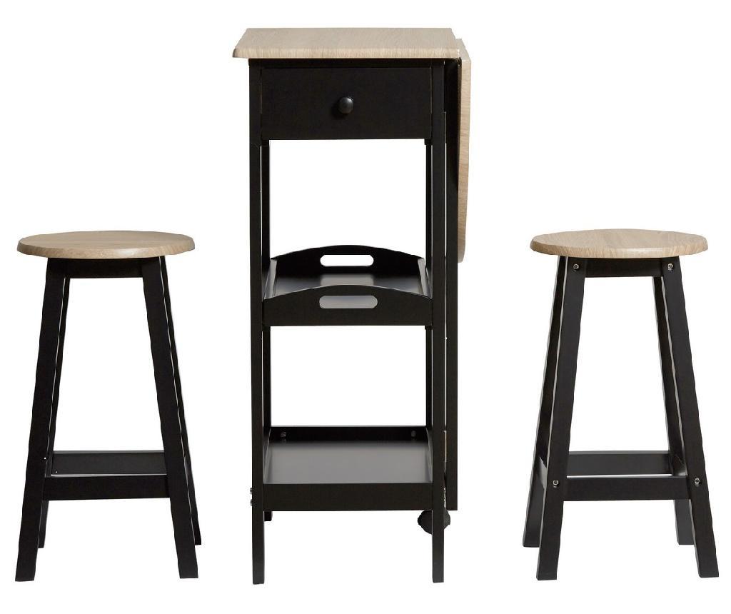 Set masa si 2 scaune Auri