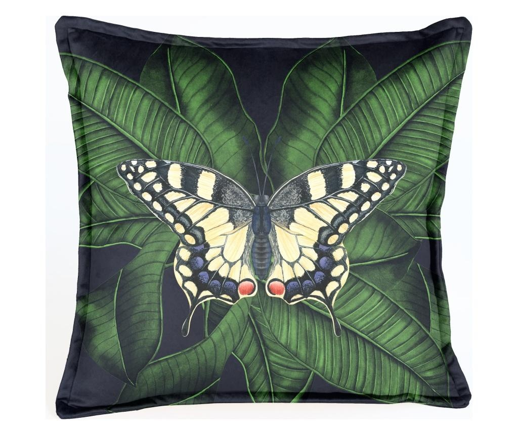 Perna decorativa Night Butterfly 45x45 cm