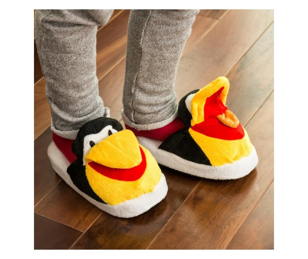 Papuci de casa copii Fluffy Original Penguin 18.5 cm