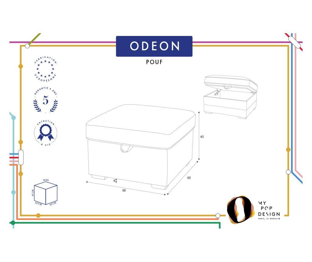 Tabure Odeon Green