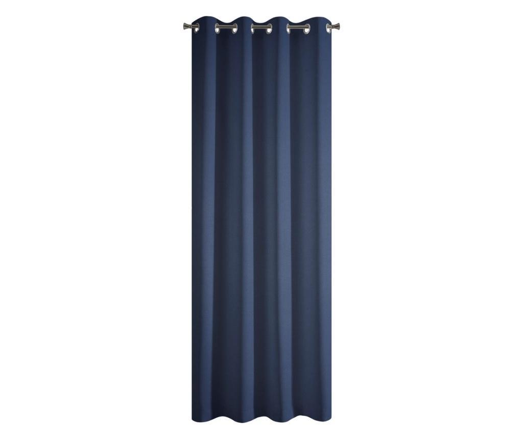Zastor Rita Blue Rings 140x250 cm