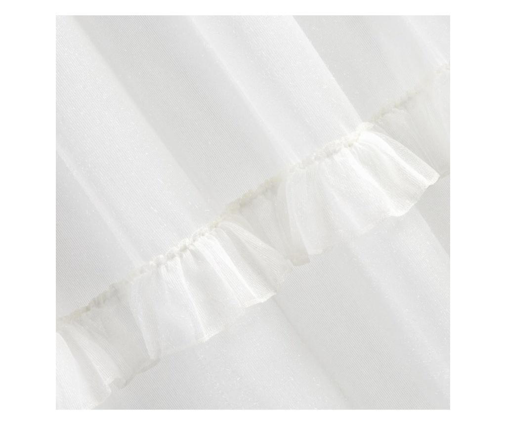 Zavesa Ariana White Rings 140x250 cm