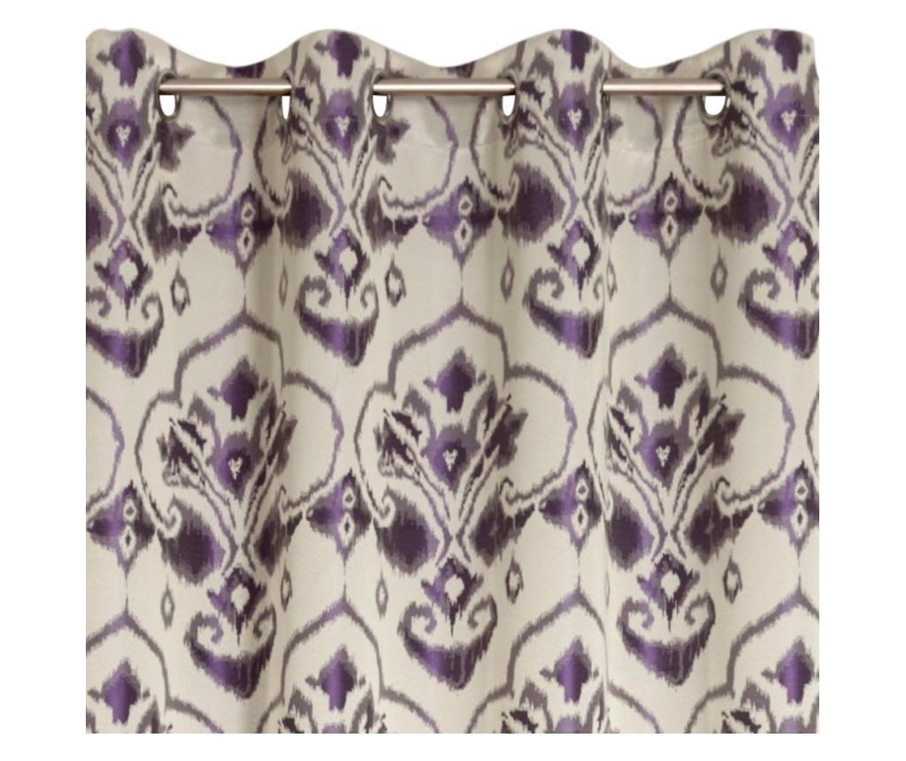 Draperie Lydia Purple 140x250 cm