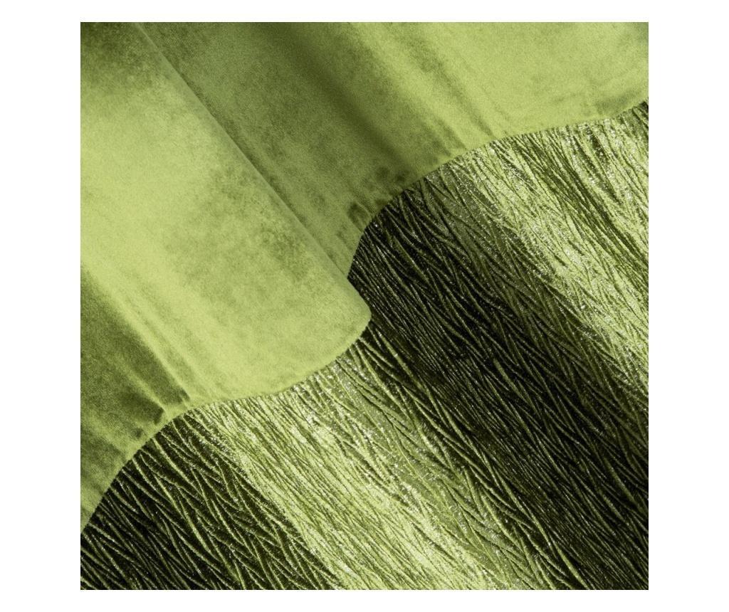 Draperie Aline Green Rings 140x250 cm