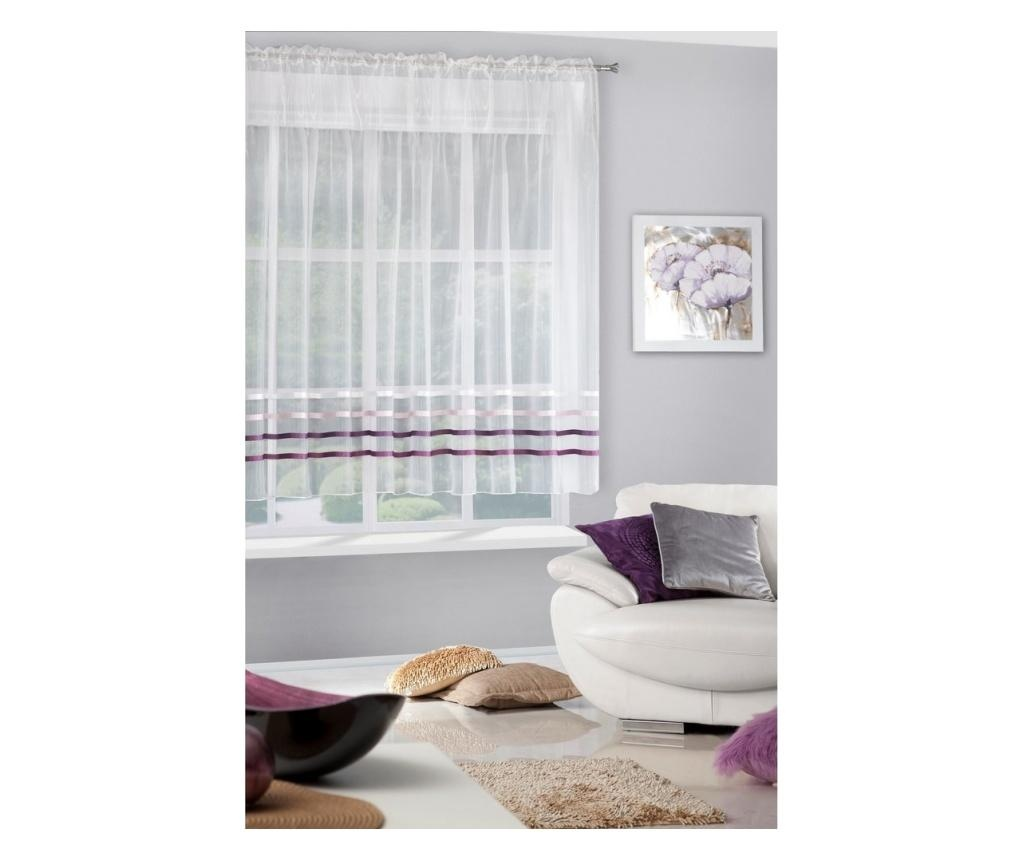 Perdea Gabi Evio Cream Purple 160x295 cm
