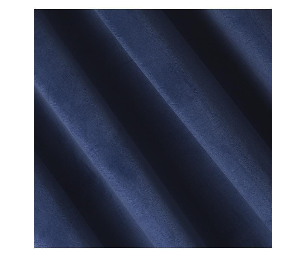 Pierre Dark Blue Sötétítő 140x270 cm