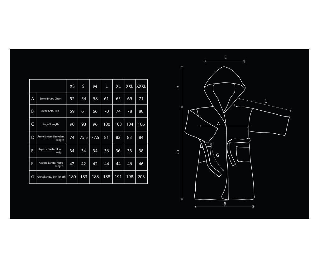 Unisex kupaonski ogrtač Sleepyhead XL