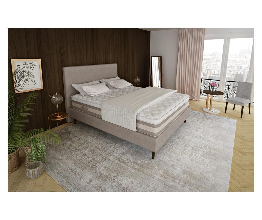 Set - ležišče, posteljni okvir z letvicami in vzglavje Ambre 140x200 cm