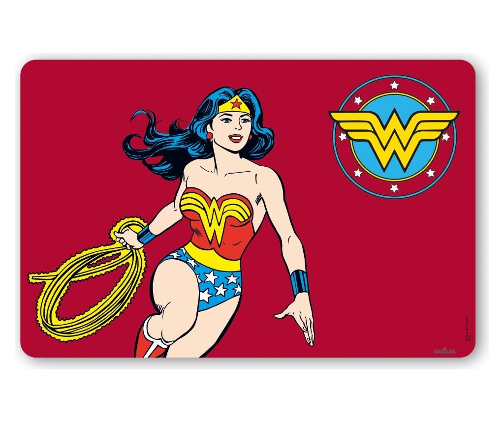 Podmetač Wonder Woman 28.5x43 cm