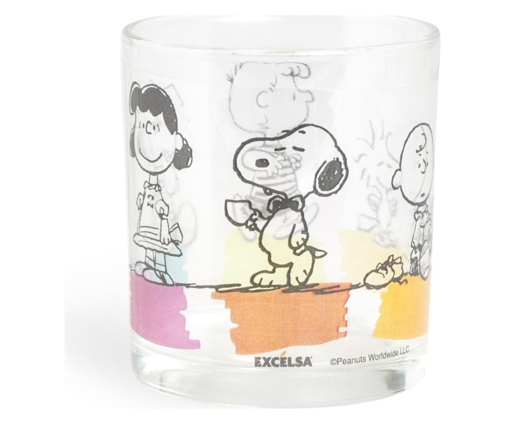 Set 3 čaša Peanuts 250 ml