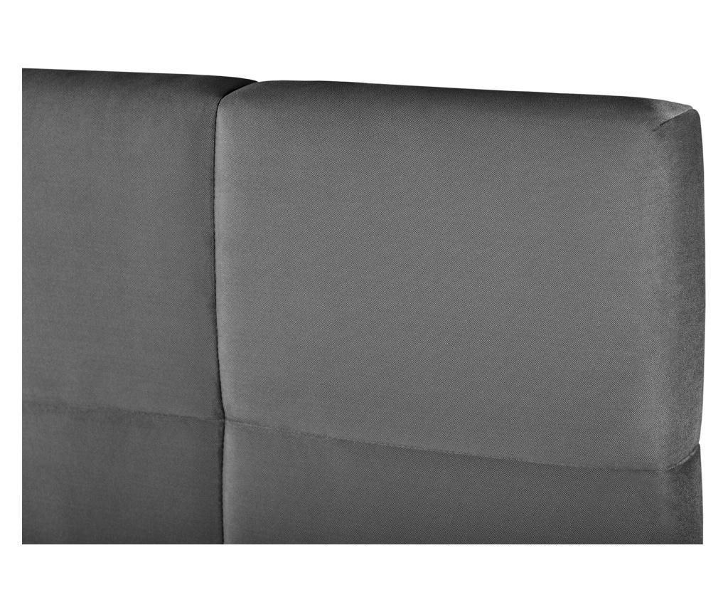 Fascination Anthracite Ágy tárolóval 180x200 cm