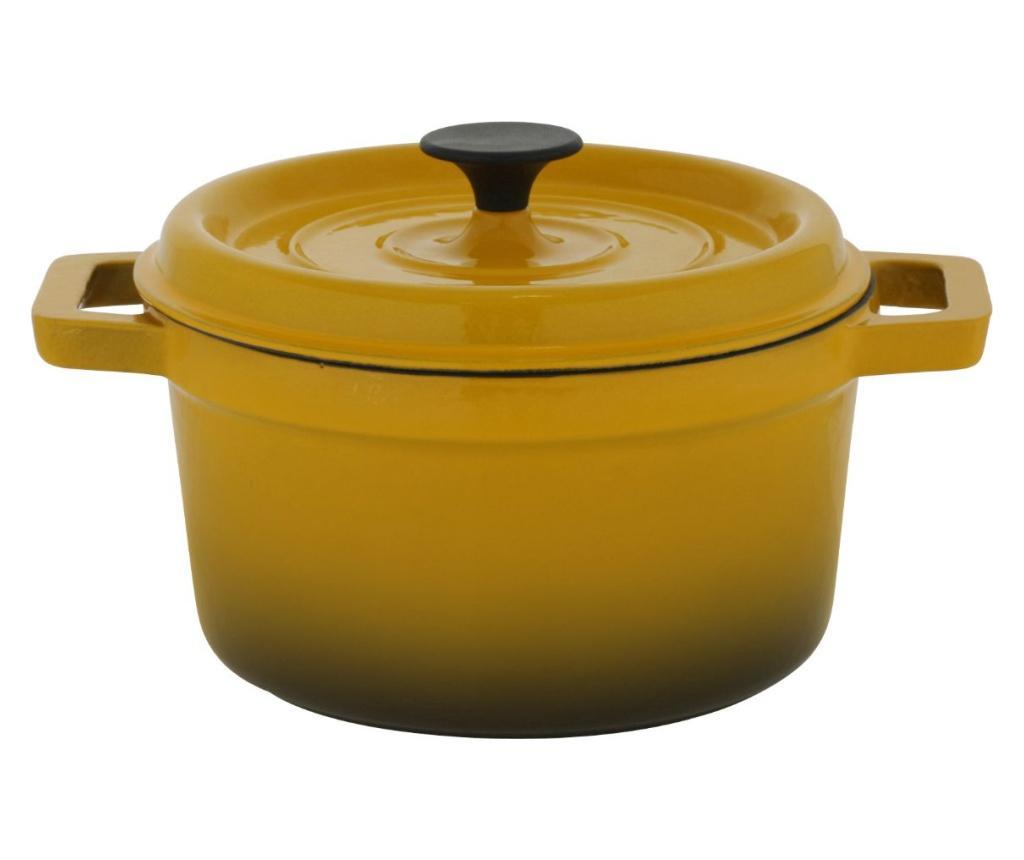 Sorrel Yellow Lábas fedővel 4.4 L