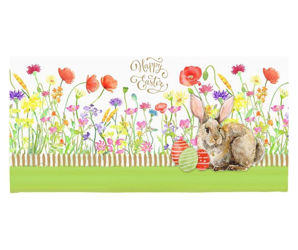 Set 2 suporturi farfurii Bunny 33x45 cm