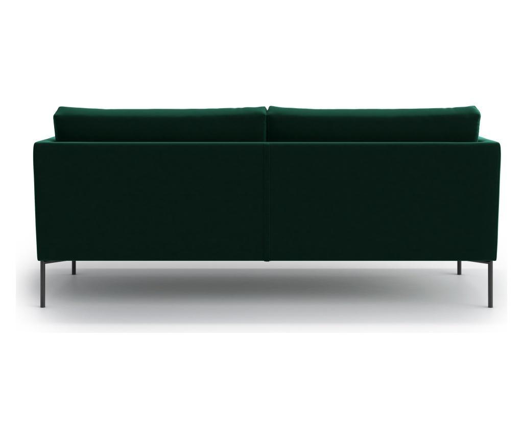 Svea Dark Green Háromszemélyes kanapé