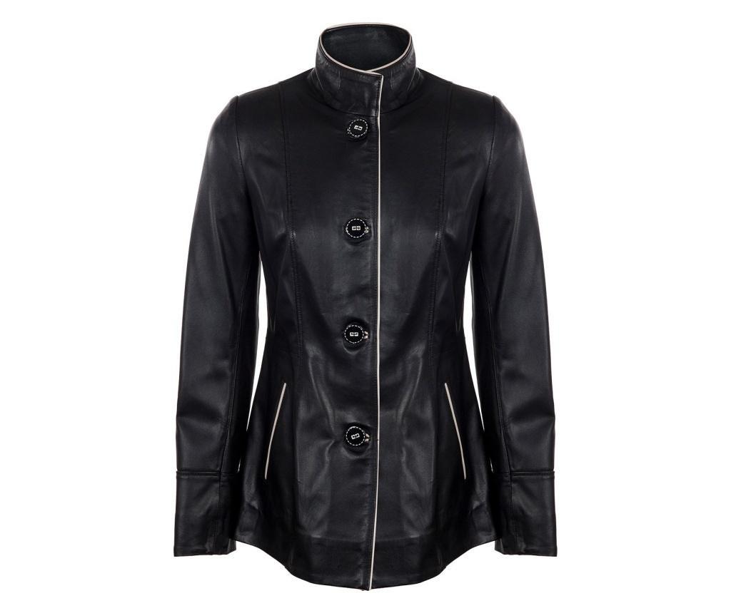Ženska usnjena jakna Iparelde Black XL
