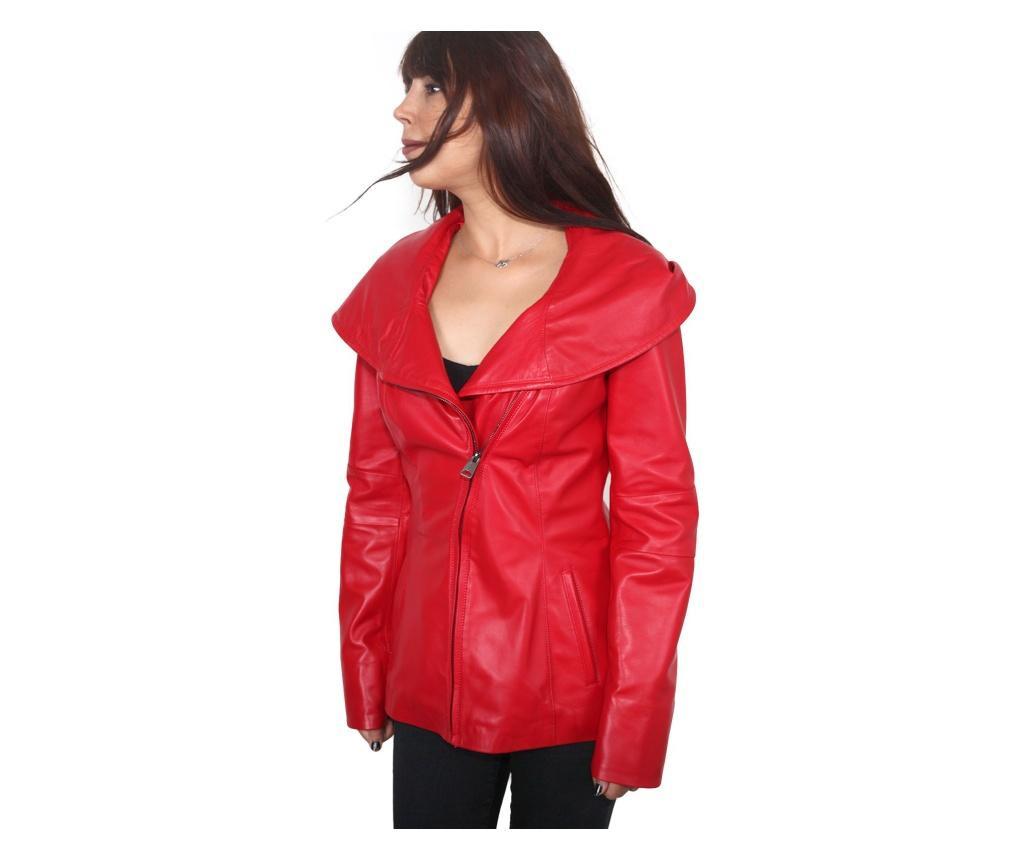 Ženska kožna jakna Iparelde Red 3XL