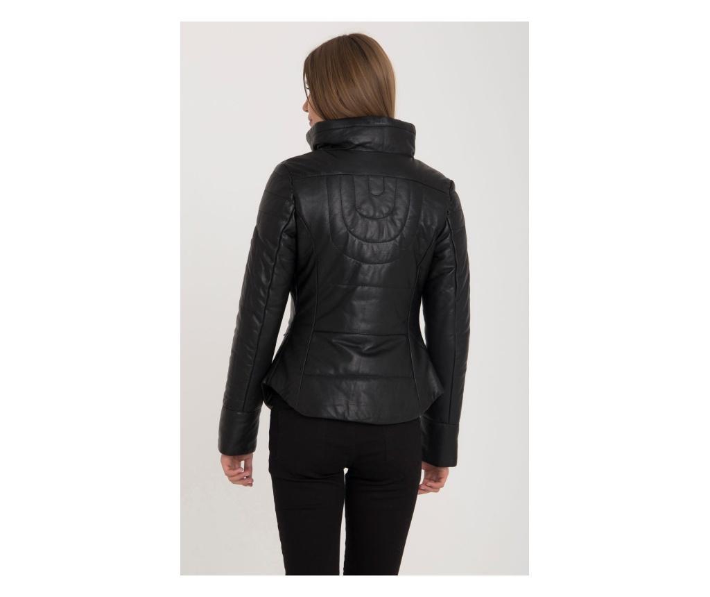 Ženska usnjena jakna Iparelde Black 2XL