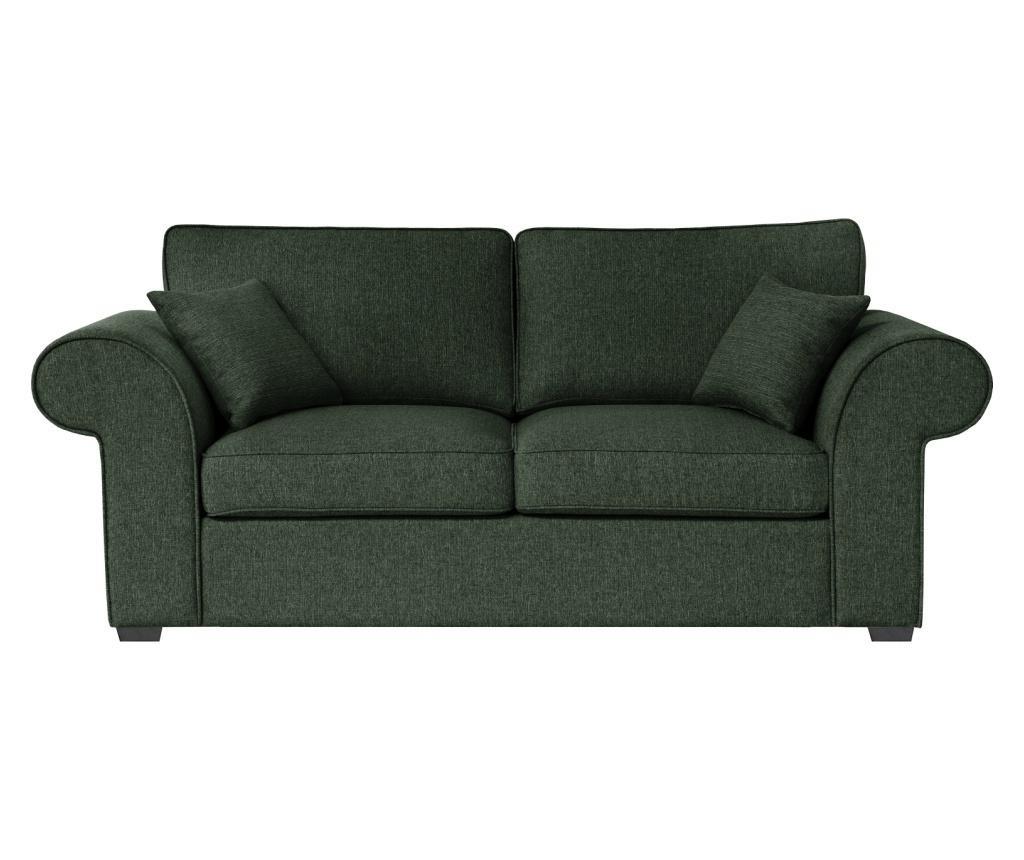 Ivy Dark Green Kétszemélyes kihúzható  kanapé